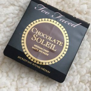 ❤️Too Faced Chocolate Soleil matte bronzer - 5x$30